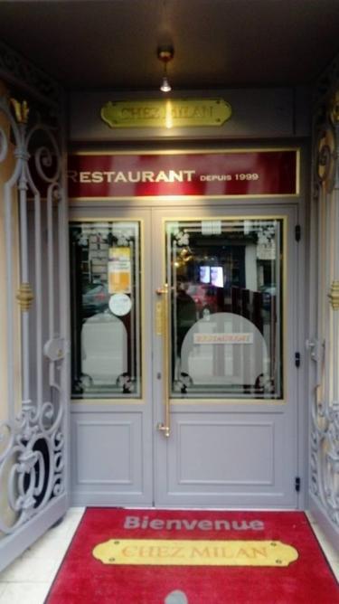 "Entrée "" Chez Milan """